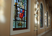 St. Cecilia Stained Glass Windows