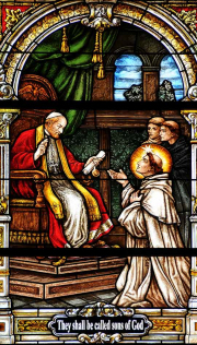 St. Dominic Stained Glass Windows