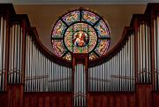 Pipe Organ and Rose Window