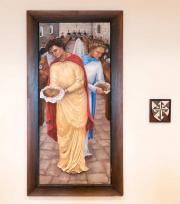 Painting of San Sisto Miracle
