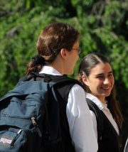 The postulant attends classes at Aquinas College where she studies philosophy and basic Catholic doctrine.