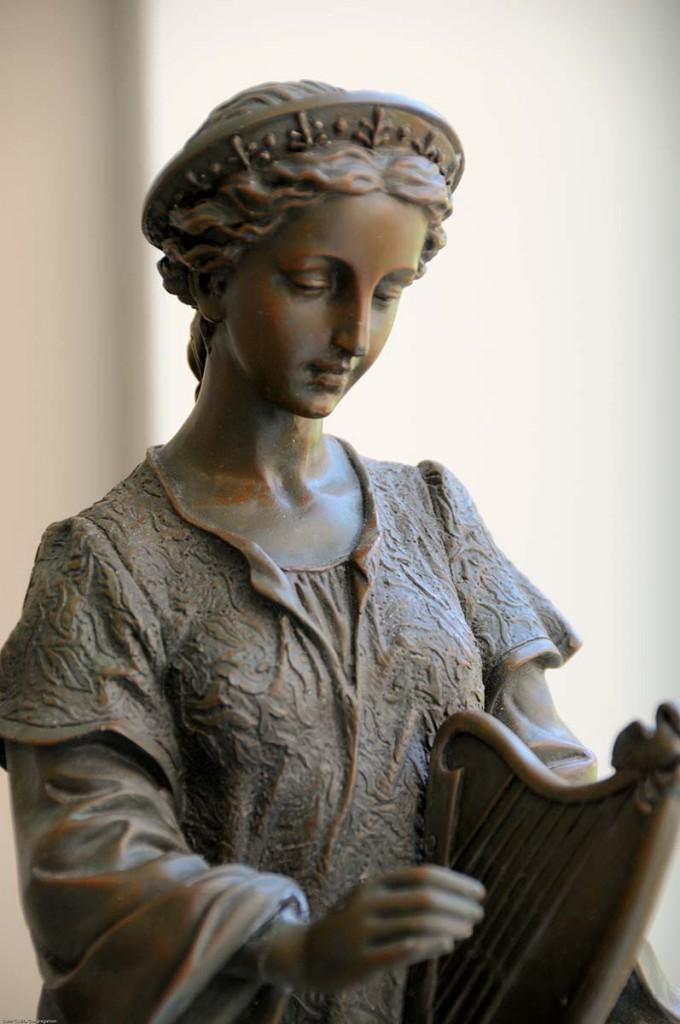 st cecilia, patroness of music, harp, nashville dominicans, st cecilia congregation, dominican sisters of st cecilia
