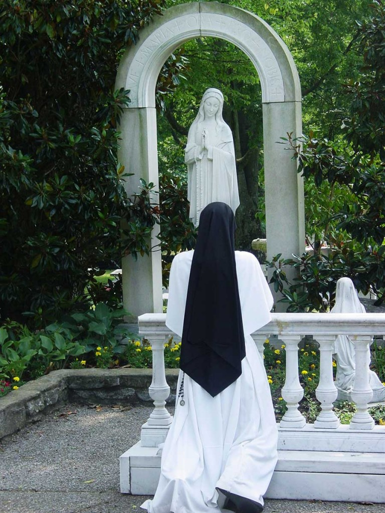 GROTTO, NASHVILLE DOMINICANS, DOMINICAN SISTER